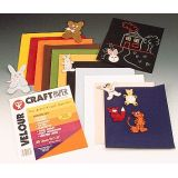 Velour Paper, 20 sheets, 2 each of 10 assorted colors