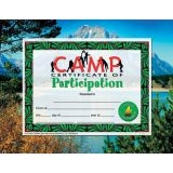 Camp Participation Award