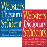 Webster's Thesaurus and Dictionary for Students, Set of 2 Books Shrink-wrapped
