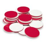Two-Color Counting Chips, Red and White