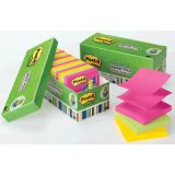 Post-it Note Pop-up Refills in Cabinet Packs, 3 x 3, Ultra Colors, 18 pads