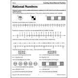 Fractions Reproducible Book, Grades 6-9
