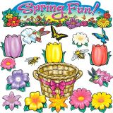 Spring Fun Bulletin Board Set