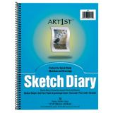 Art1st Sketch Diary, 9 x 6, 70 sheets