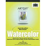 Art1st™ Watercolor Pad, 11 x 14