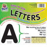 4 Self-Adhesive Letters, Black