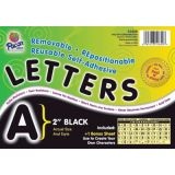 2 Self-Adhesive Letters, Black