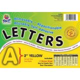 2 Self-Adhesive Letters, Yellow
