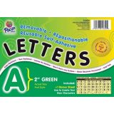 2 Self-Adhesive Letters, Green
