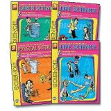 Earth Science, Physical Science, Life Science 4-Book Set