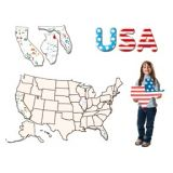 USA Collage Map