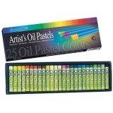Sargent Art Artist's Oil Pastels, 25 assorted