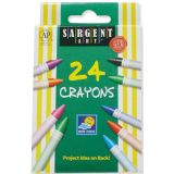 Sargent Art Crayons, 24 count tuck box