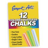 Assorted Dustless Chalkboard Chalk