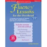 Fluency Lessons for the Overhead, Grades 2-3