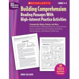 Building Comprehension Reading Passages With High-Interest Practice Activities