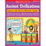 Ancient Civilizations Know-the-Facts Review Game