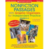 Nonfiction Passages With Graphic Organizers for Independent Practice, Grades 2-4