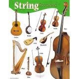 String Instruments, Music Learning Chart