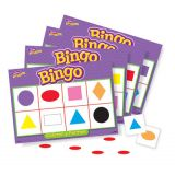 Bingo Game, Bingo de Colores y Formas (Spanish Colors & Shapes)