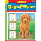 Draw and Color, Dogs & Puppies