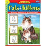 Draw and Color, Cats & Kittens