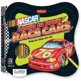 NASCAR Learn to Draw Race Cars