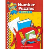 Practice Makes Perfect: Number Puzzles, Grade 6
