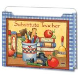 Susan Winget Substitute Teacher Expandable Pocket Files