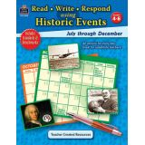 Read-Write-Respond using Historic Events, July-December