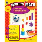 Targeting Math: Geometry, Chance & Data, Grades 1-2