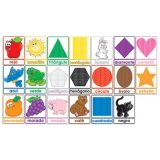 Colores y Figuras Bulletin Board Set