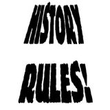 History Rules! Rubber Stamp