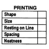 Printing Rubber Stamp