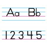 Manuscript Alphabet Bulletin Board Set
