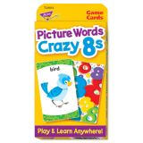 Picture Words Crazy 8s Pocket Flash Cards