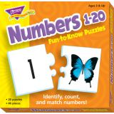 Numbers 1-20 Fun-to-Know Puzzles