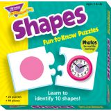 Shapes Fun-to-Know Puzzle