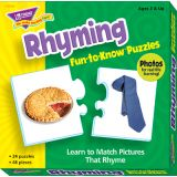 Rhyming Fun-to-Know Puzzle