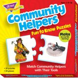 Community Helpers Fun-to-Know Puzzle