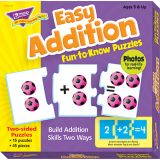 Easy Addition Fun-to-Know Puzzle
