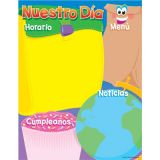 Spanish Learning Chart, Nuestro Dia (Our Day)