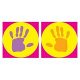 Helping Hands, superSpots Stickers