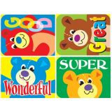 Applause Stickers, Teddy Bears