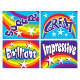 Applause Stickers, Rainbows