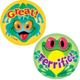 Frolicking Frogs (Pineapple), Stinky Stickers