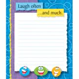 Laugh often... Note Pad