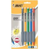 BIC® Matic Grip® Mechanical Pencil, Fine Point, 5/pkg