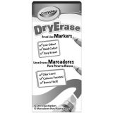 Crayola® Dry-Erase Markers, Green 12/Box