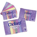 Ruled Commercial Index Cards, Assorted Colors, 3 x 5, 100/pkg